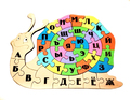 Алфавит-улитка развивашка -раскраска