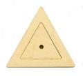 Фигурка вкладыш Треугольник