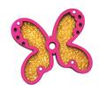 Бабочка вертушка для кубика 5см