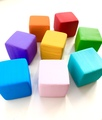 Кубик деревянный