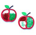 Яблоко- вертушка под бисер