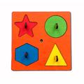 Сортер 4 геометрические фигуры