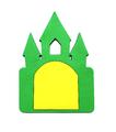 Замок с дверцей